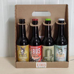 caixa 4 cerveses artesanas